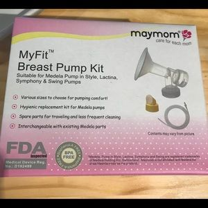 Maymom breast pump accessory kit